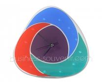 Cтеклянные часы в корпоративном стиле | Разработка | Производство