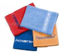 Махровые полотенца c логотипом | Под заказ