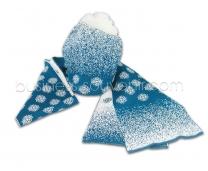 Шапка и шарф | Под заказ | Корпоративные цвета | Нанесение логотипа