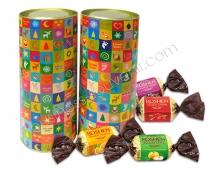 Тубус с конфетами